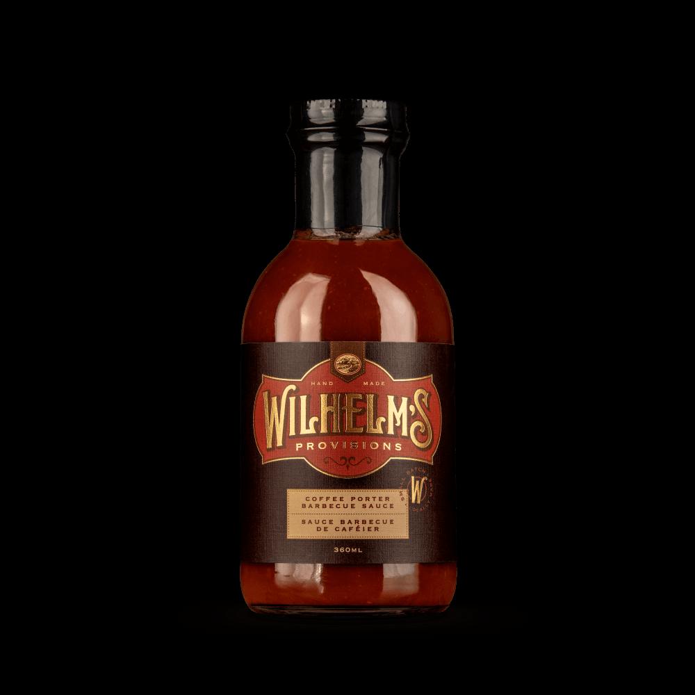Wilhelm's Provisions Coffee Porter BBQ Sauce