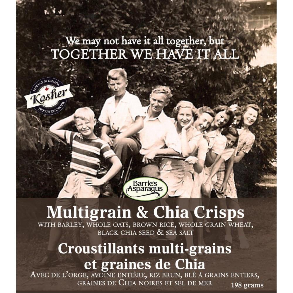 Barrie's Multigrain Chia Crisps