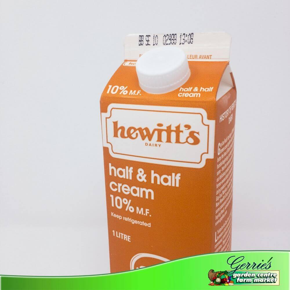 Half and Half Cream - 10%