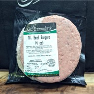 All Beef Burgers (4 oz)