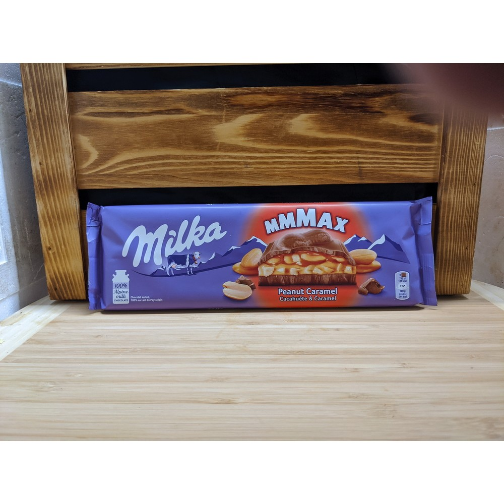 Alpine Milk Chocolate with Peanuts and Caramel (276g)