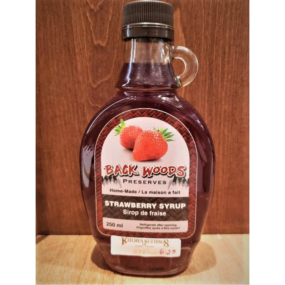 Strawberry Fruit Syrup