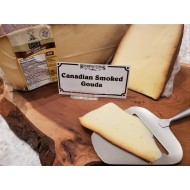 Fresh Cut Canadian Smoked Gouda ( lactose free) (per 1/2 lb.)