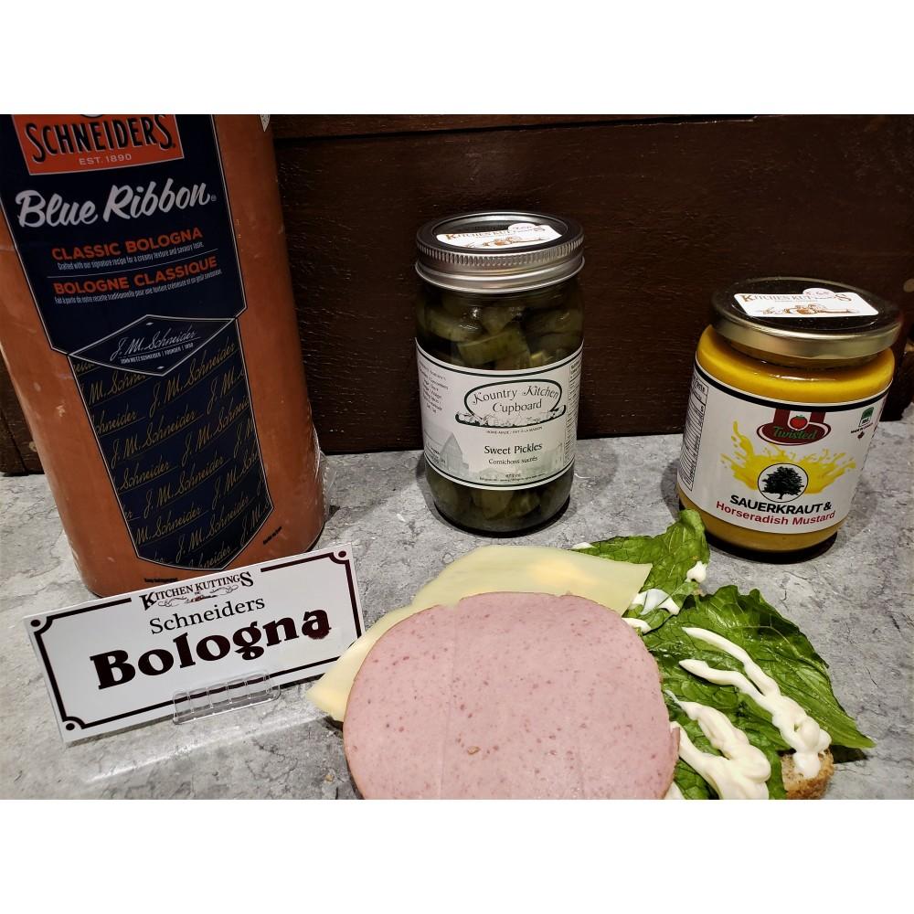 Schneiders Bologna Deli Meat (per 1/2 lb.)