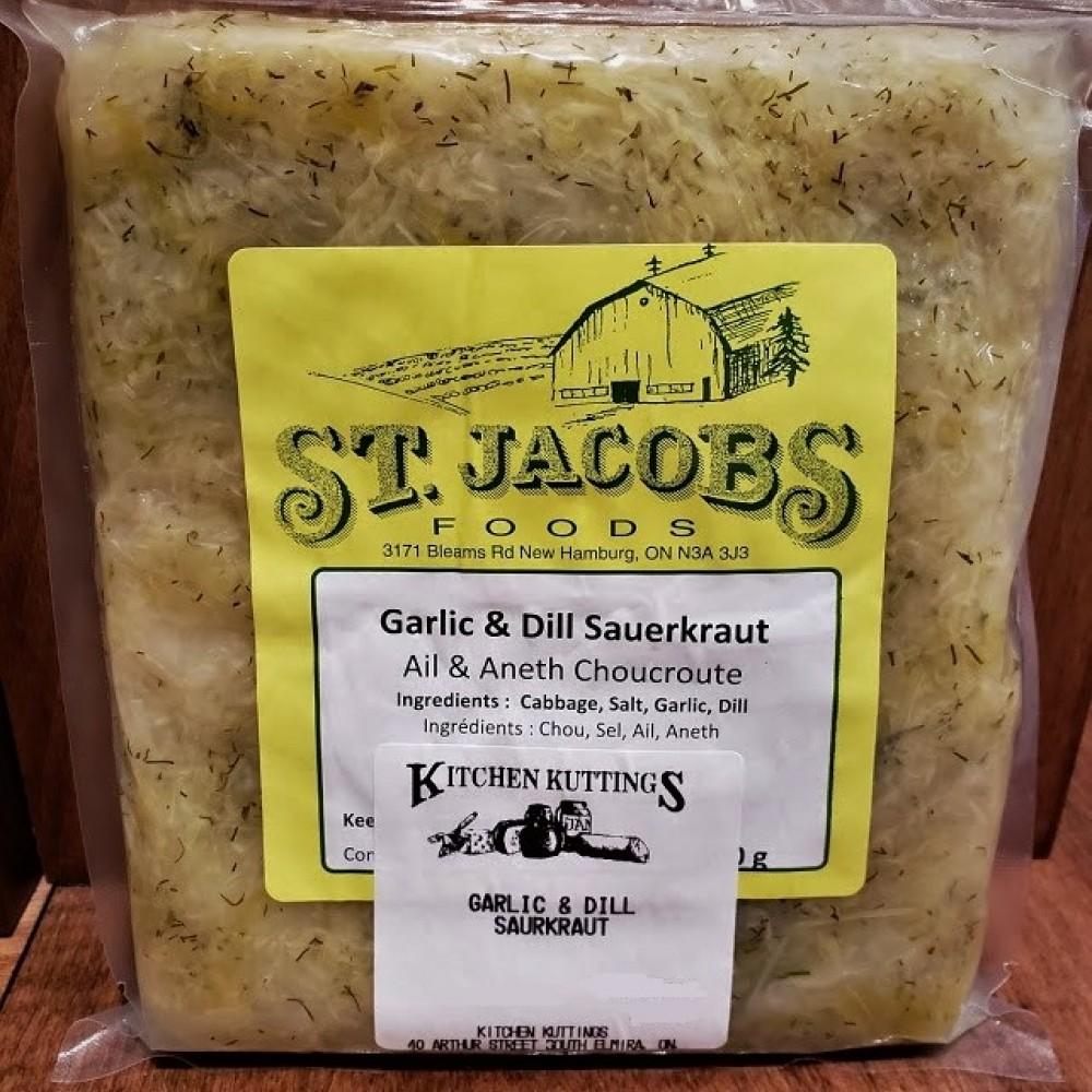 Garlic and Dill Sauer Kraut (500 g.)