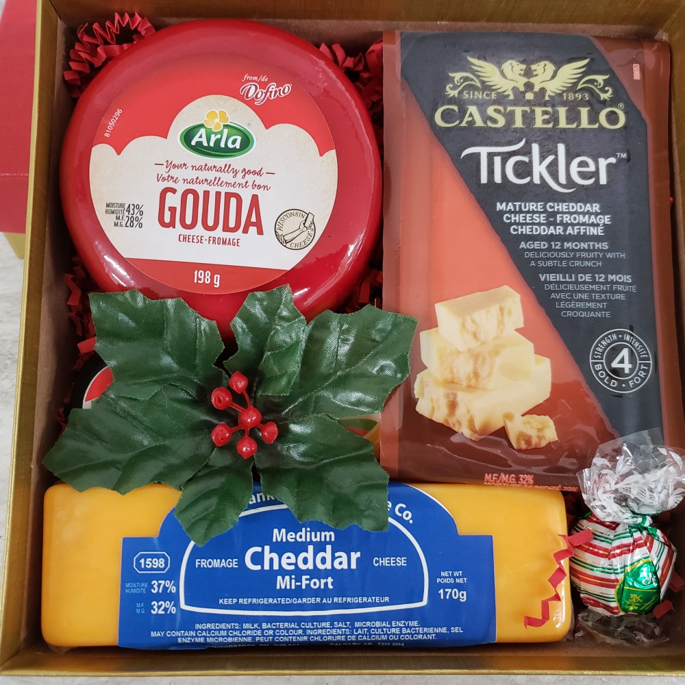 Kitchen Kuttings - Cheese Gift Box  #4