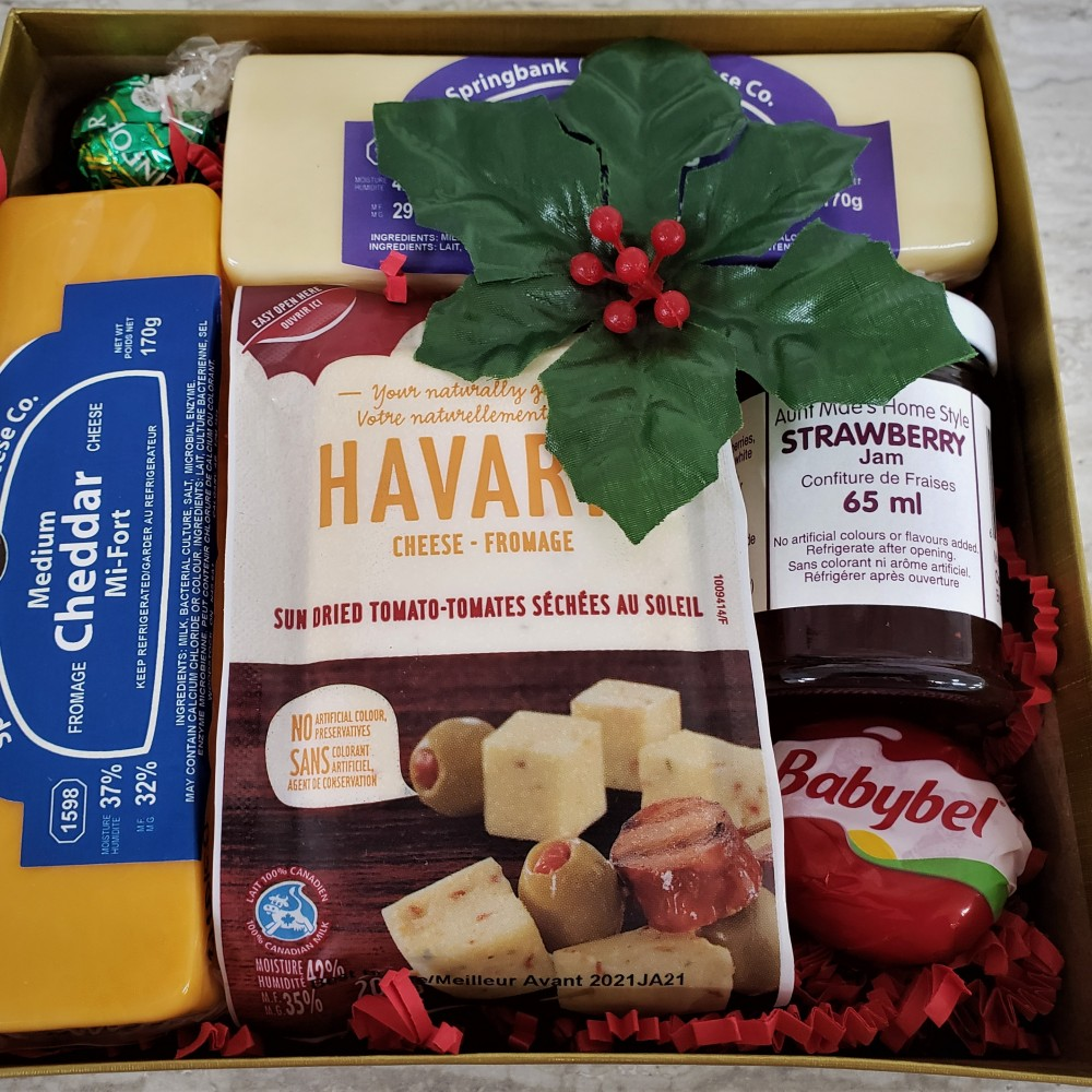 Kitchen Kuttings - Cheese Gift Box #3