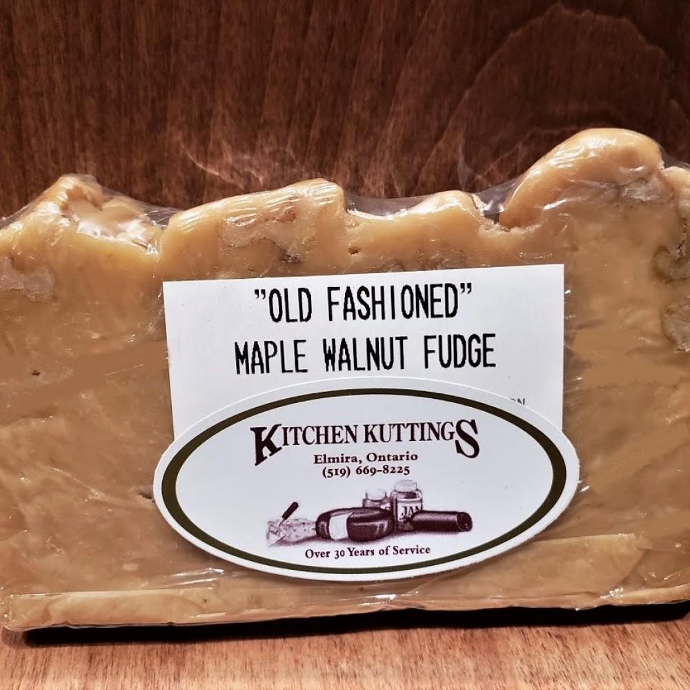 """Old Fashioned"" Maple Walnut Fudge"