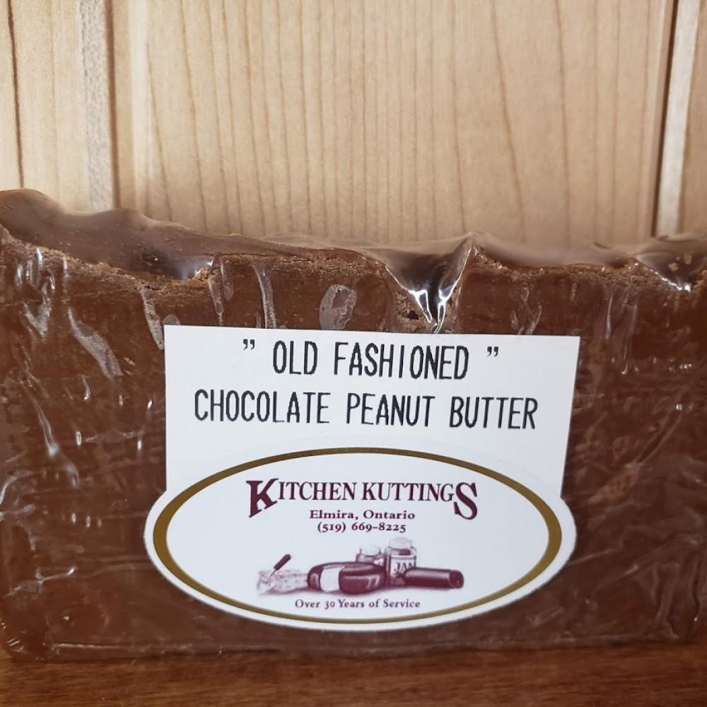 """Old Fashioned"" Chocolate Peanut Butter Fudge"
