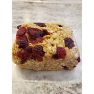 Homemade Cranberry Almond Crunch Granola Bars 150 g.