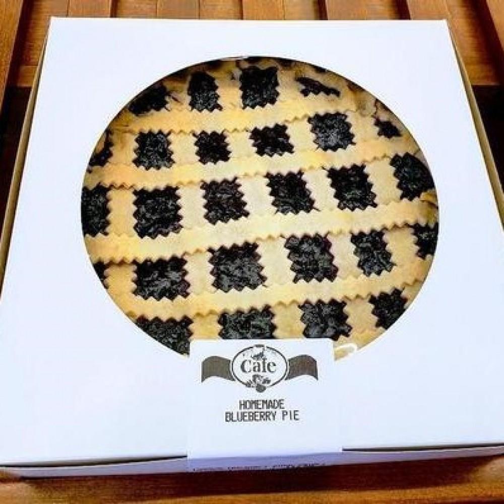 Homemade Blueberry Pie