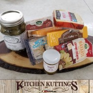 Pickles & Cheese Gift Basket
