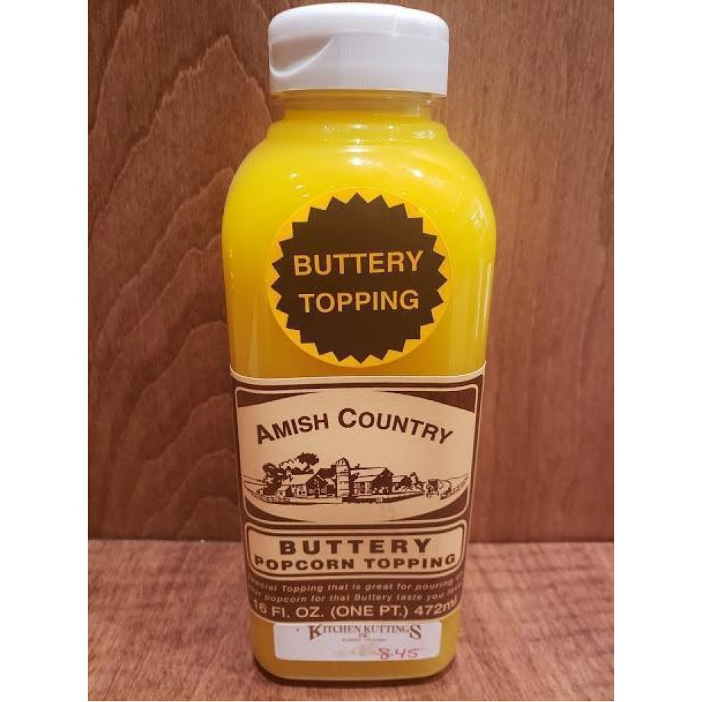 Amish Country Buttery Popcorn Topping