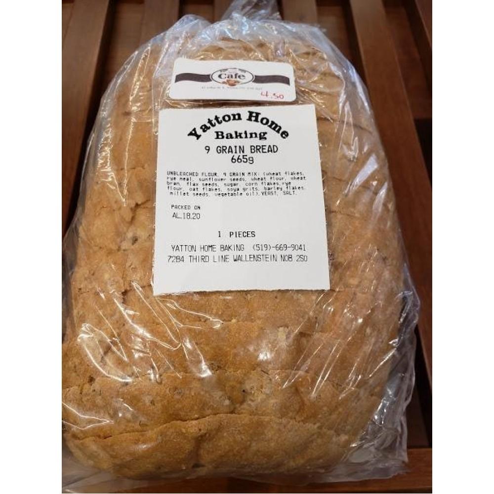 Homemade 9 - Grain Bread