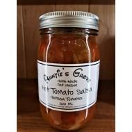 Local Homemade Hot Tomato Salsa