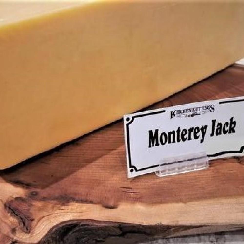 Fresh Cut Monterey Jack Cheese (per 1/2 lb.)