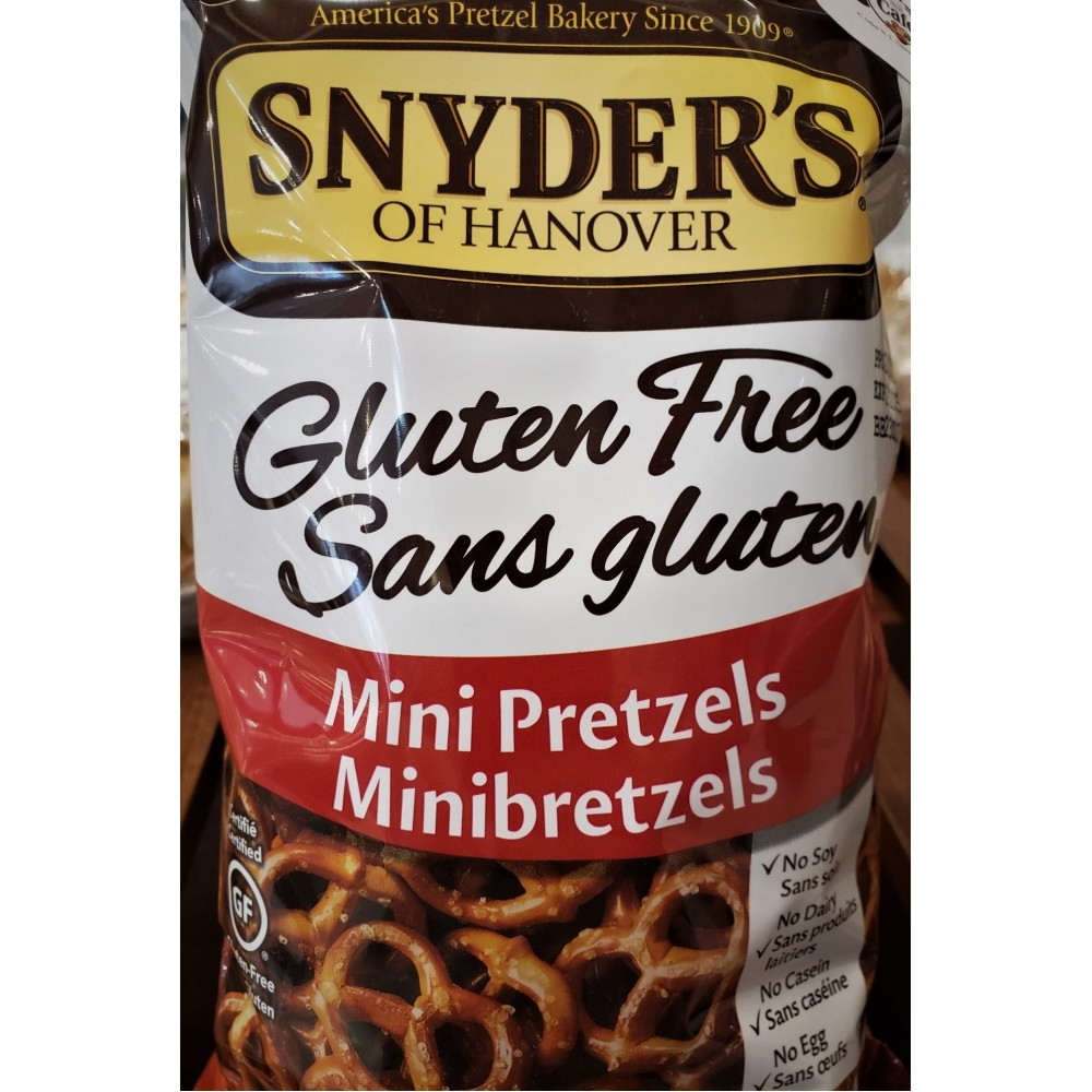 Gluten Free Plain Mini Pretzels