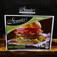 Burgers - Beef (12 x 4 oz)