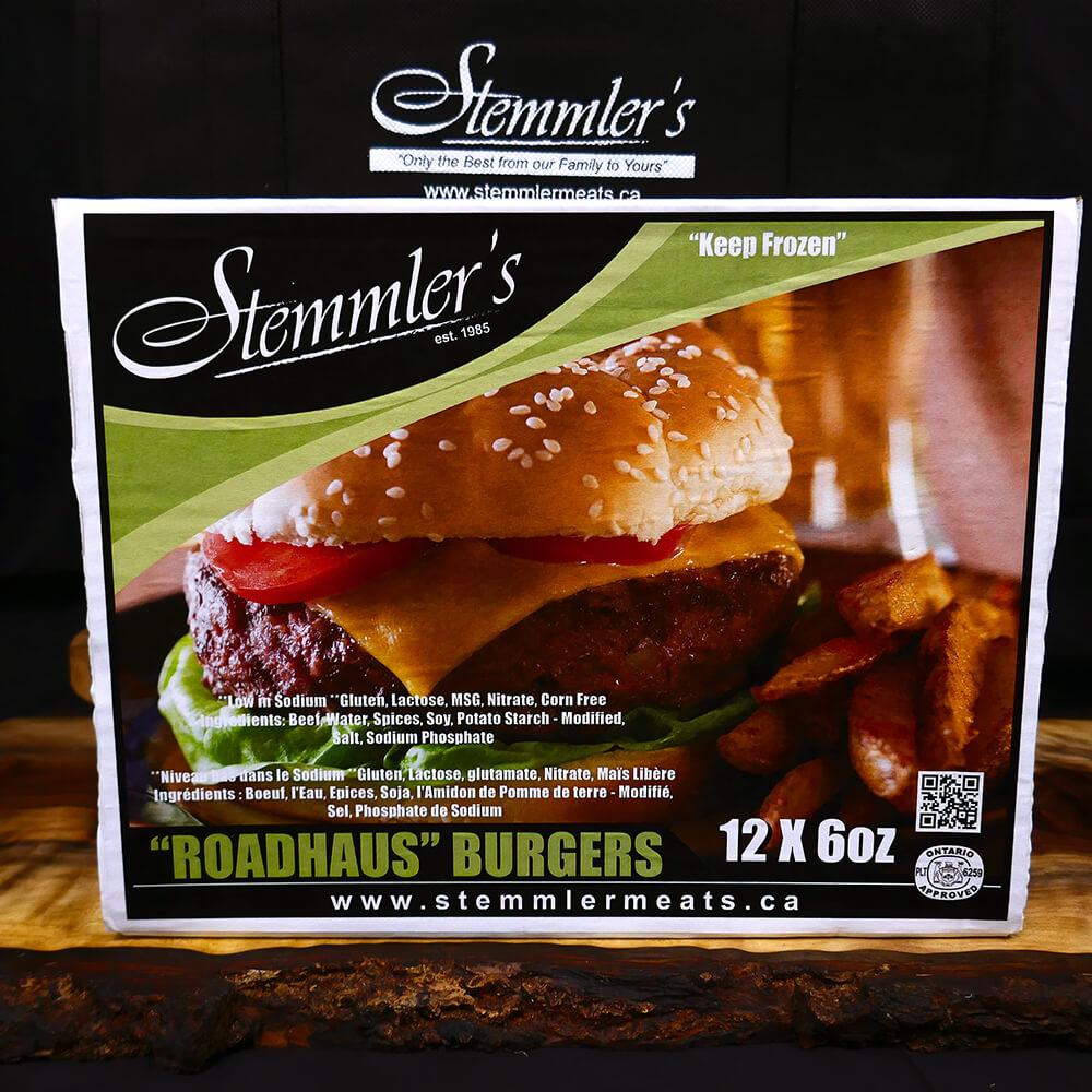 Burgers - Roadhaus (12 x 6 oz)