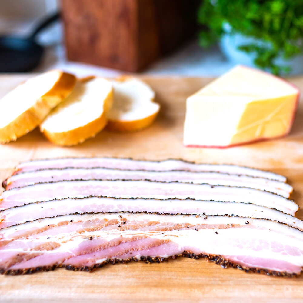 Bacon - Pepper Smoked (1 lb)