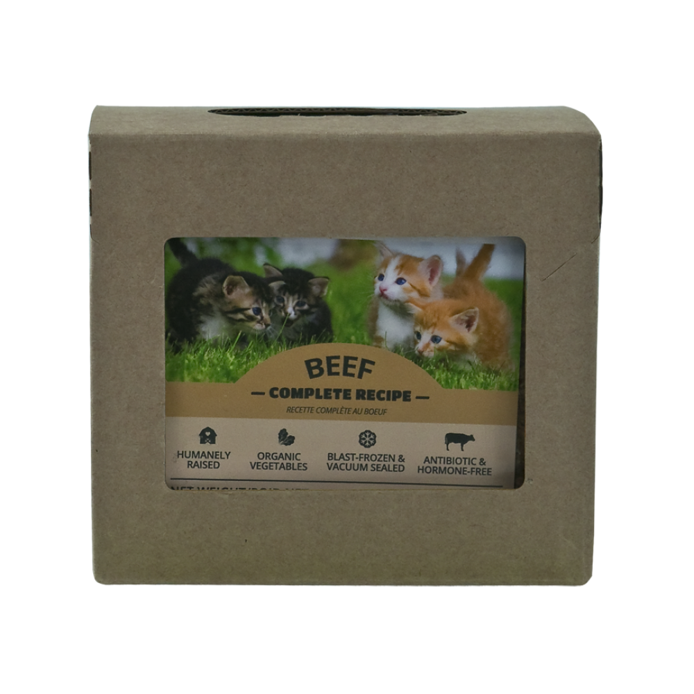 RDBK Beef Complete for Cats 1/2lb
