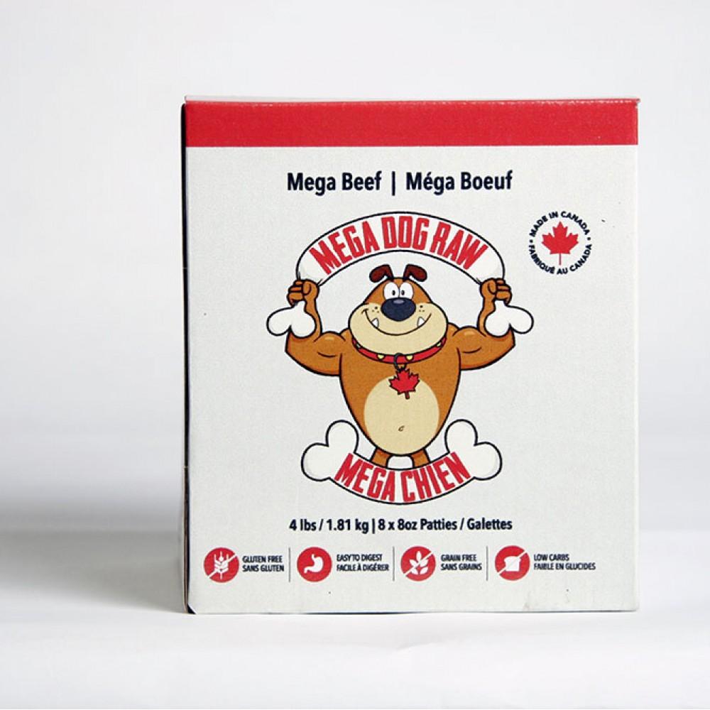 Mega Dog Beef 4lb