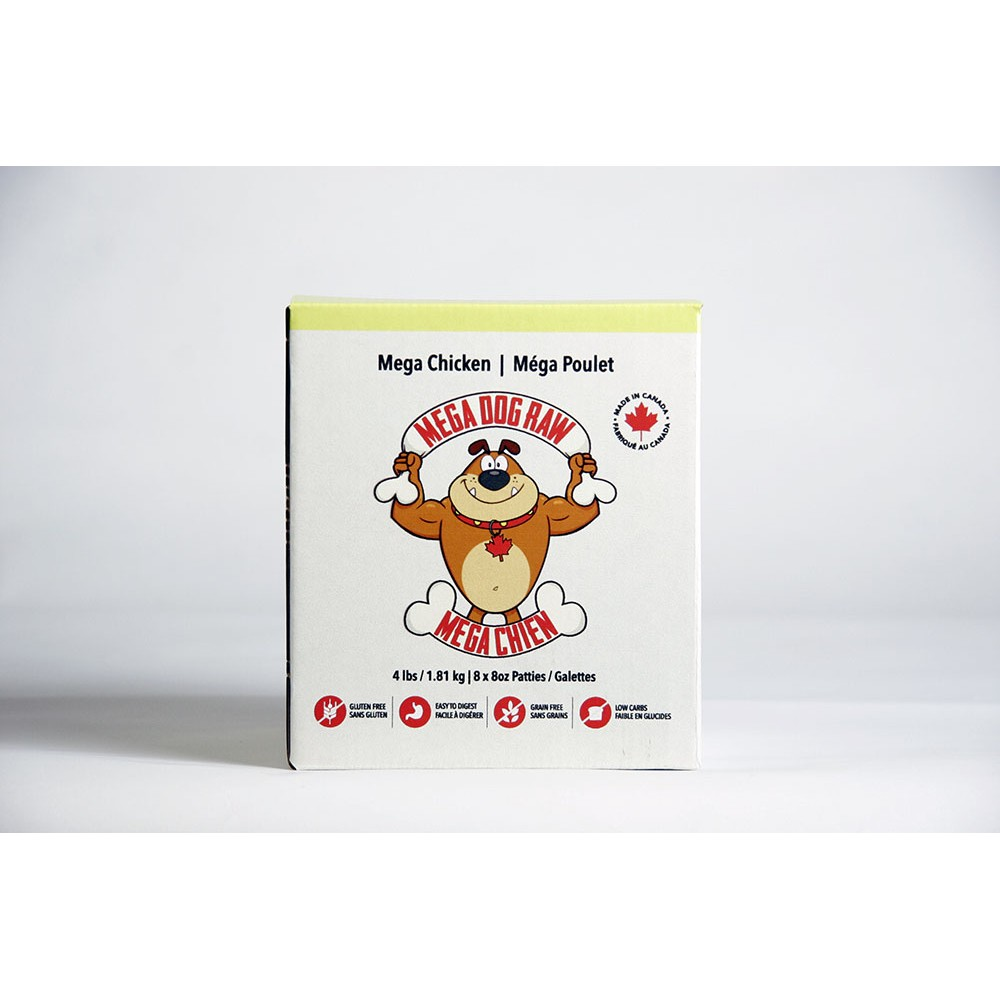 Mega Dog Chicken 4lb