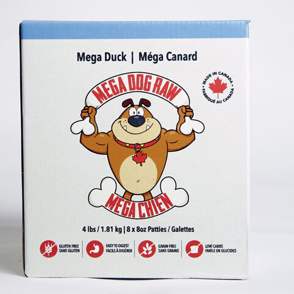 Mega Dog Duck 4lb