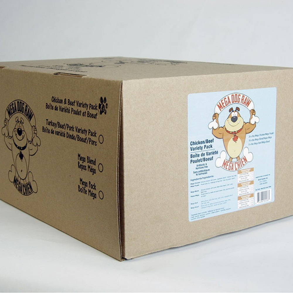 Mega Dog Chicken Variety 24lb